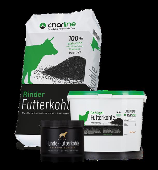 CharLine Futterkohle für Haus- & Nutztiere