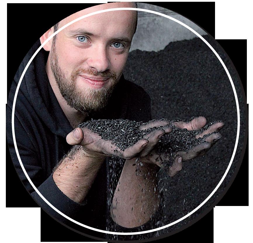 Dominik Dunst - Die Faszination am Rohstoff Pflanzenkohle ist grenzenlos