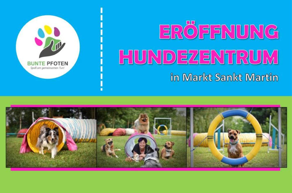 Eröffnung Hundezentrum - Bunte Pfoten, CharLine Futterkohle