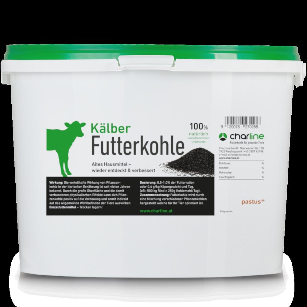 CharLine Futterkohle für Kälber - Eimer