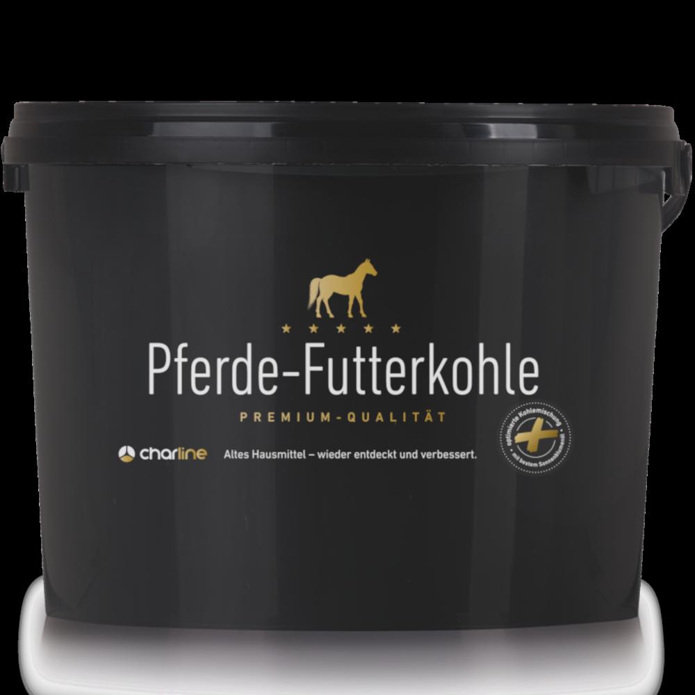 CharLine Futterkohle für Pferde - Großer Eimer