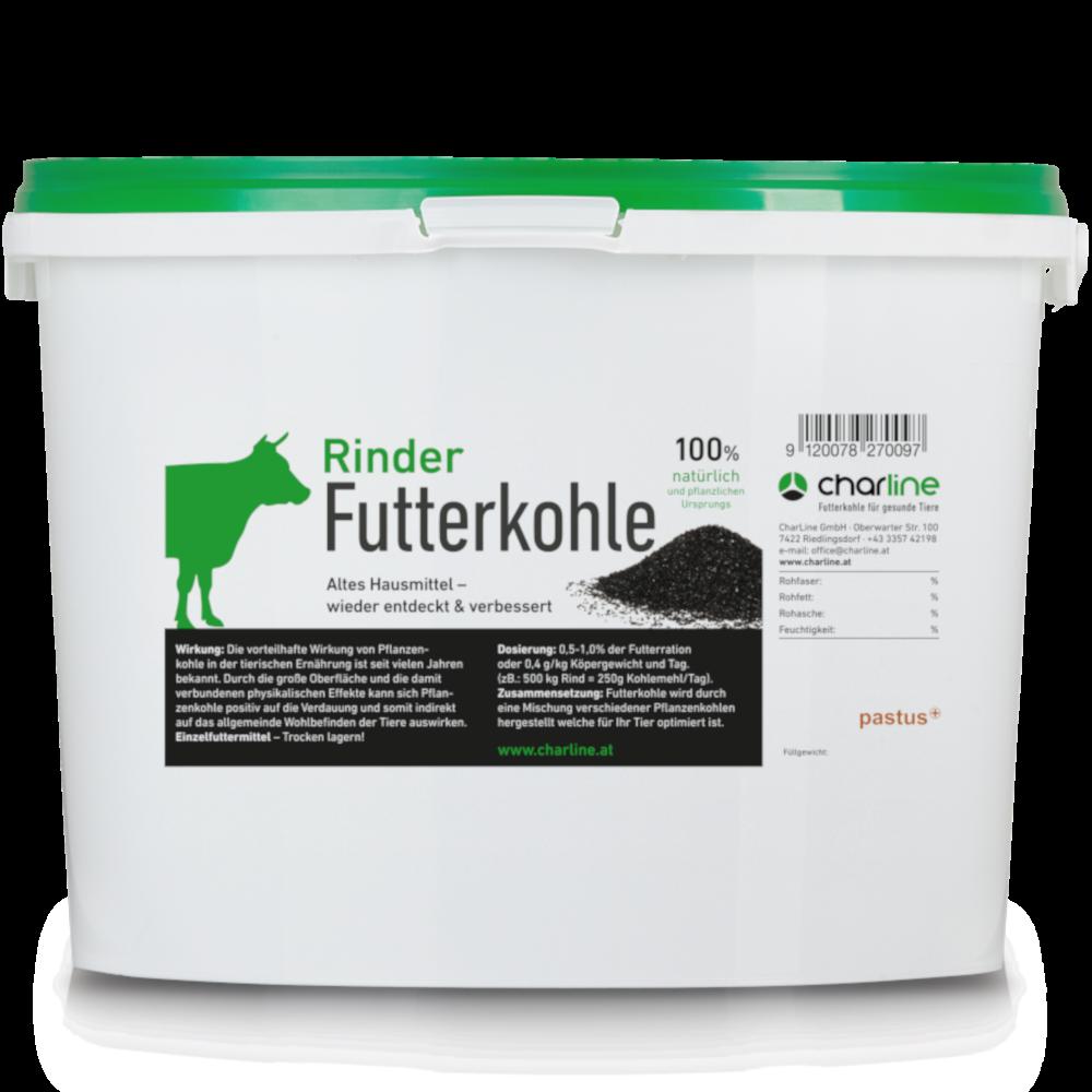 CharLine Futterkohle für Rinder - Eimer