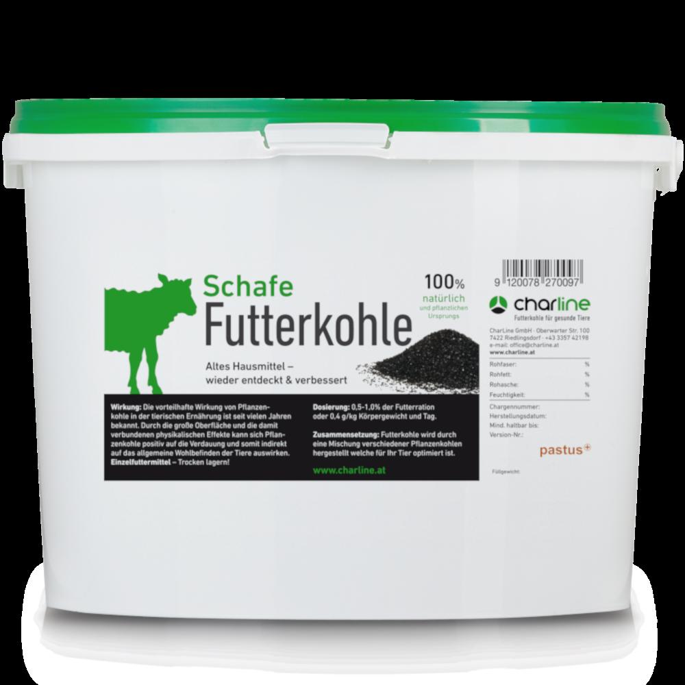 CharLine Futterkohle für Schafe - Eimer