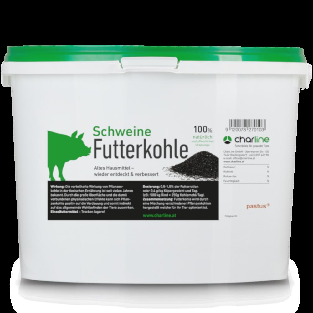CharLine Futterkohle für Schweine - Eimer